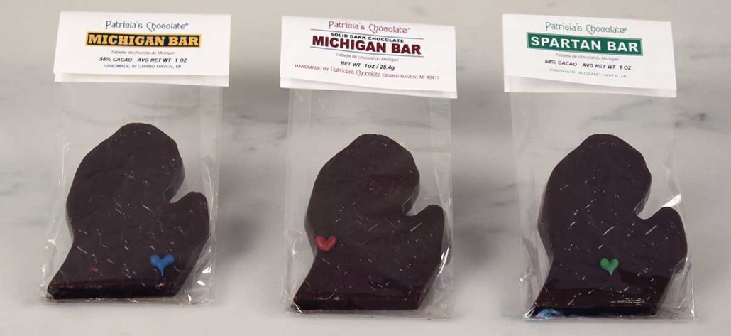 Custom Michigan Chocolate Bar