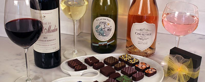 Wine Chocolates